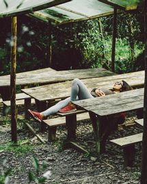 Faire une sieste en été