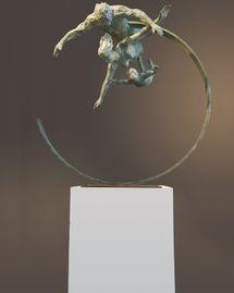 Art et prémonition : les sculptures aériennes de Bénédicte Dubart