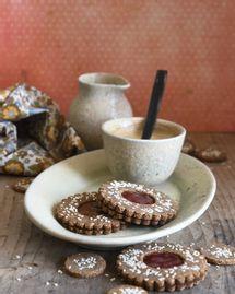 sablés sans gluten confiture