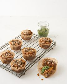 muffins courgette