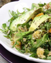 Salade gourmande de quinoa à l'avocat
