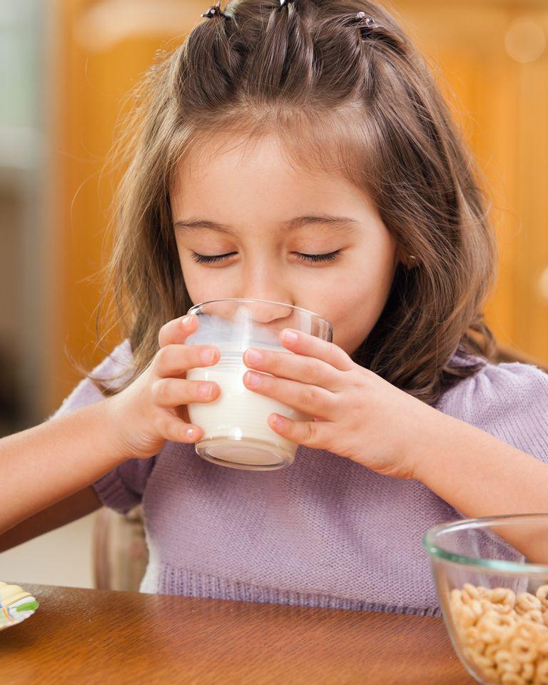 lait enfant petit dejeuner