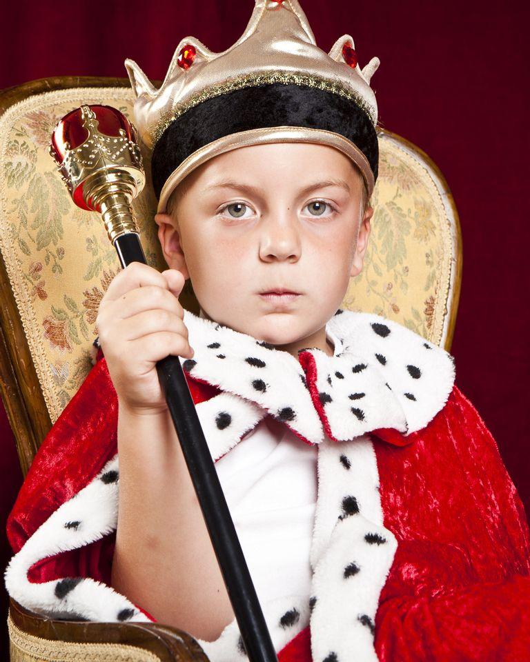 enfant garçon roi