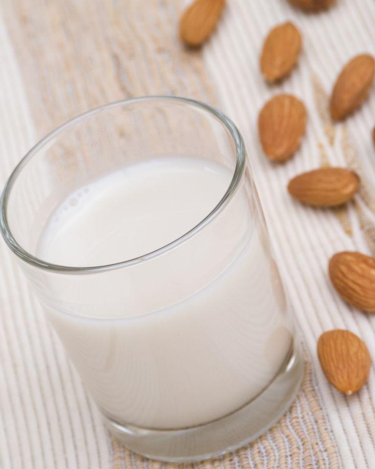 lait d'amande oleagineux