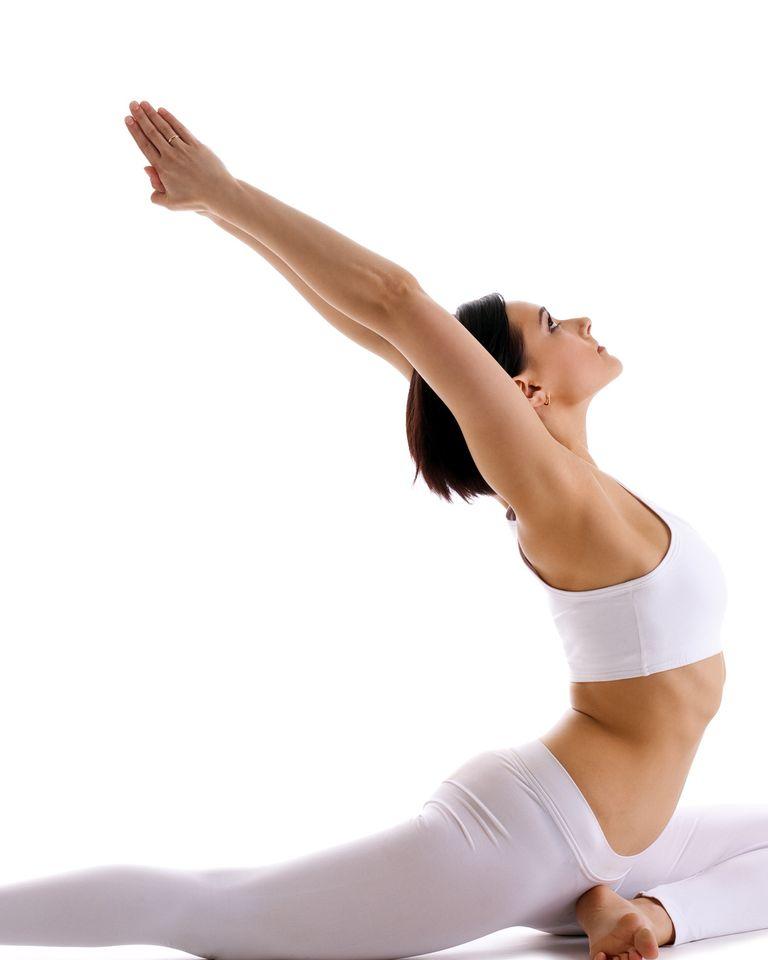 yoga etirement asana pigeon