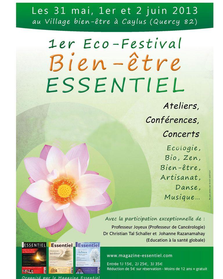 Le premier Eco Festival bien-être Essentiel