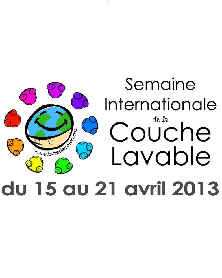 Logo semaine internationale de la couche lavable 2013