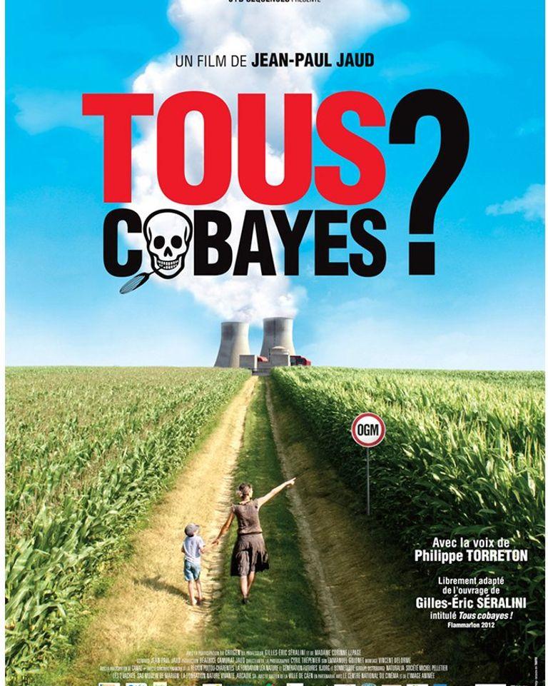 """Affiche film """"tous cobayes?"""" Jean-Paul Jaud"""