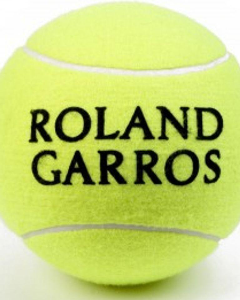 balle tennis roland garros