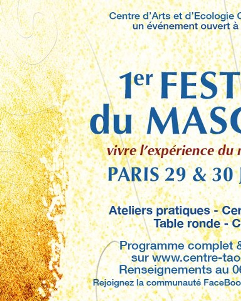 festival du masculin centre tao paris 29 30 juin 2013