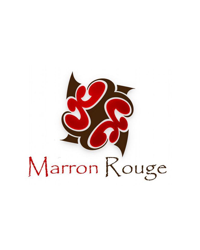 logo marron rouge