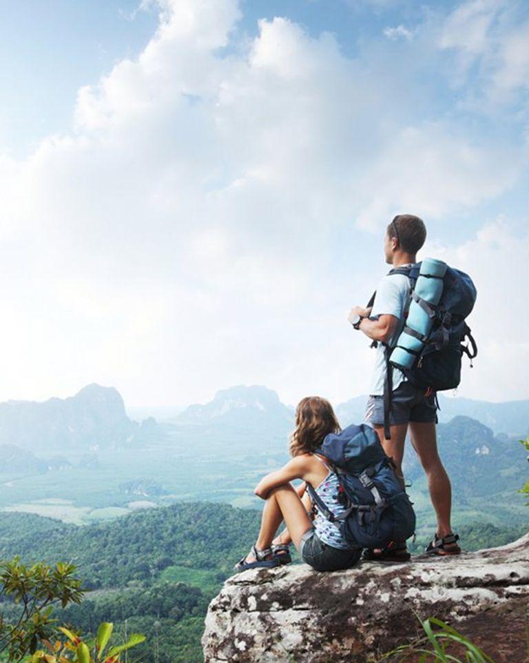 Voyage montagne paysage