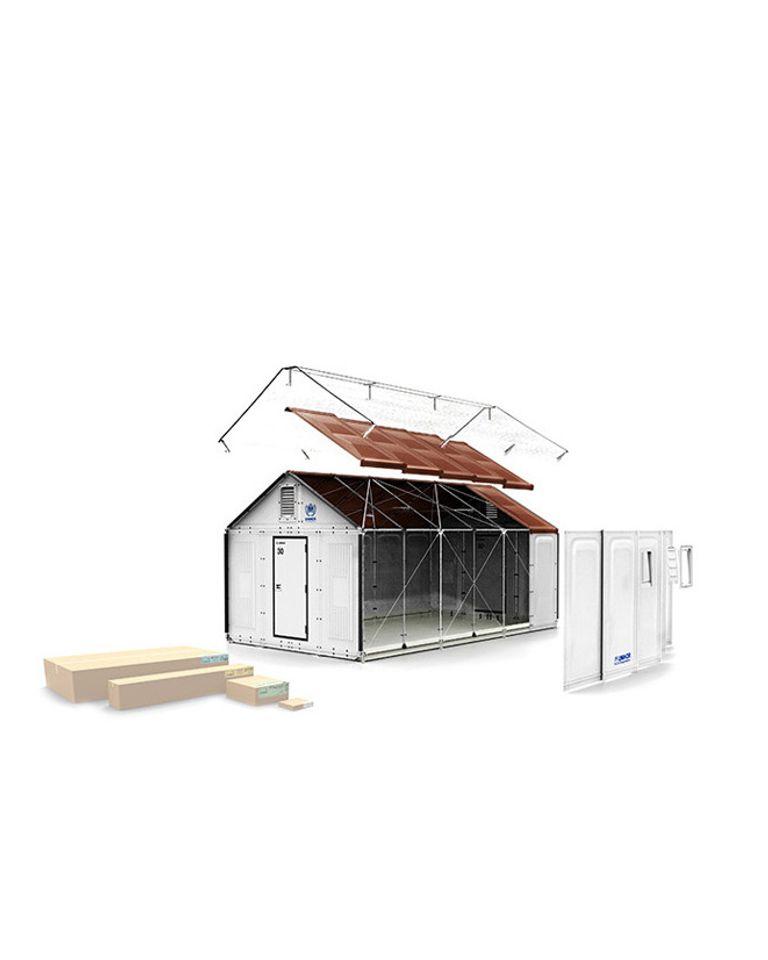 maison kit ikea refugies