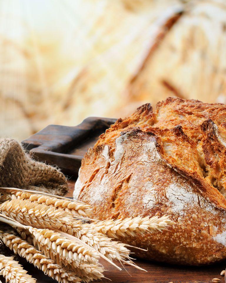 pain blé gluten