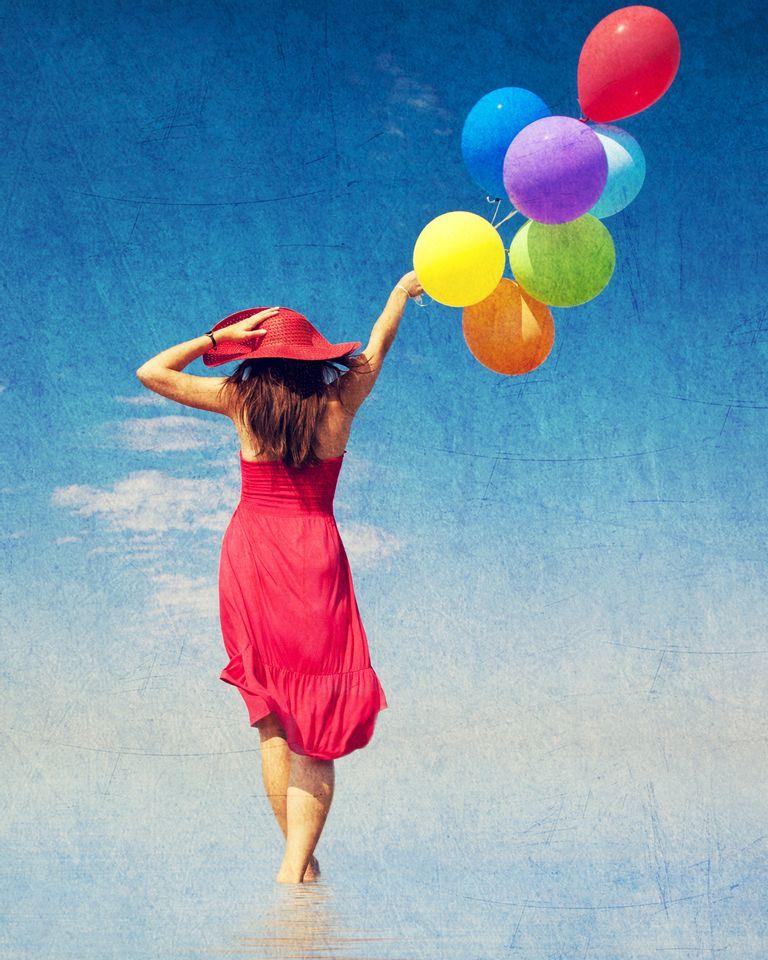 Femme ballon