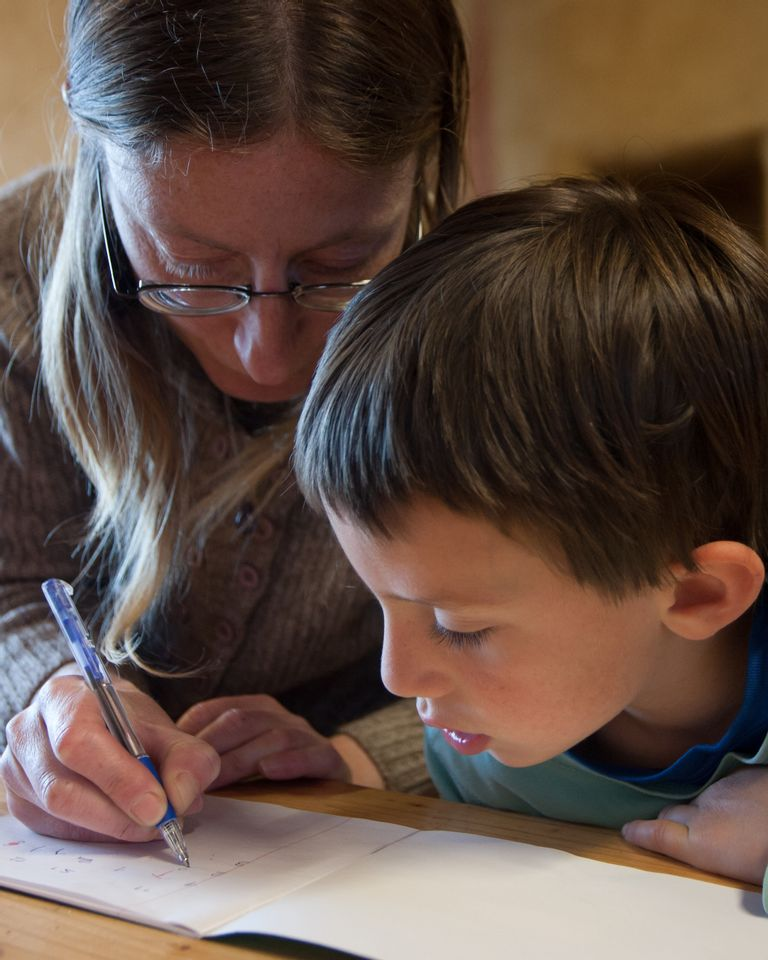 L'écriture à la Ferme des enfants
