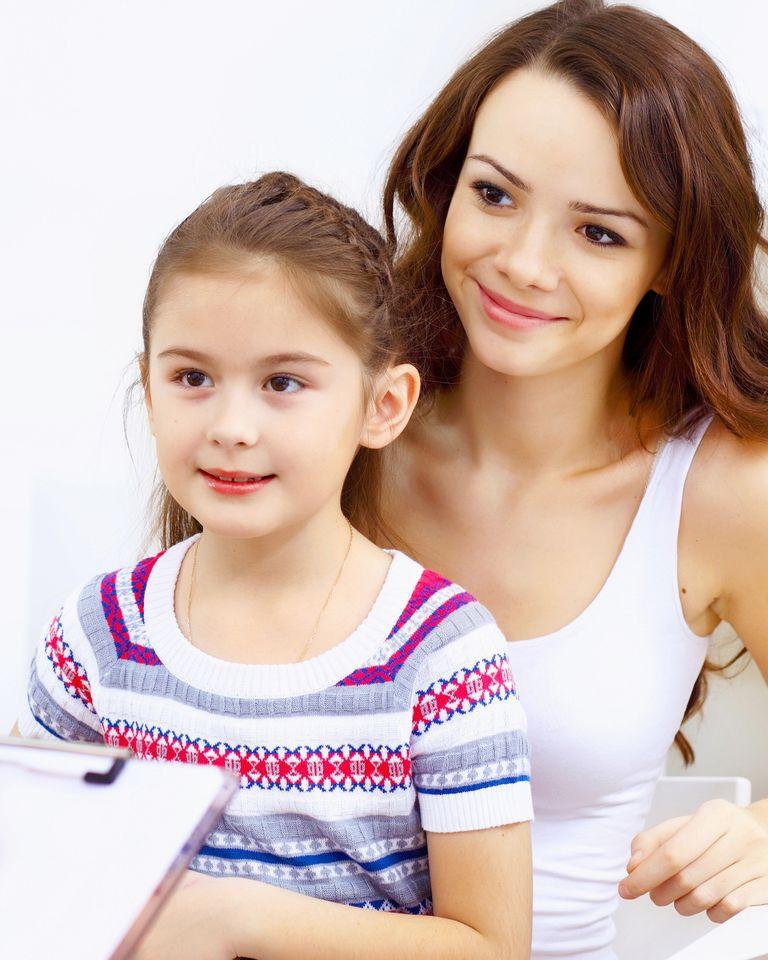 enfant maman consultation