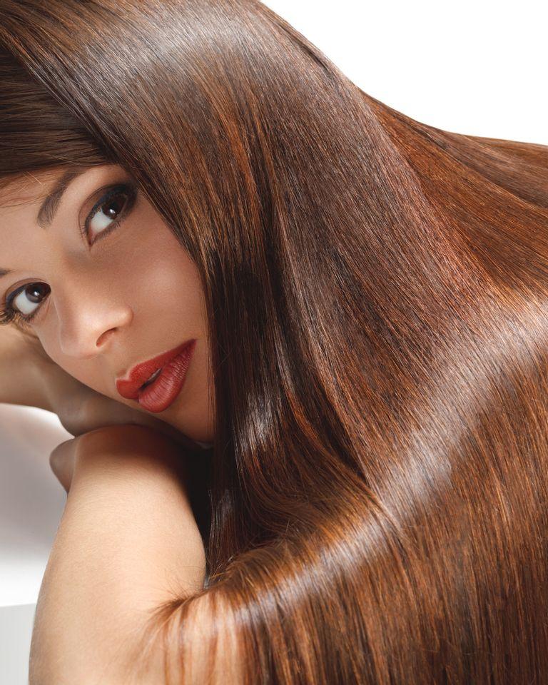 De beaux cheveux sans produits chimiques