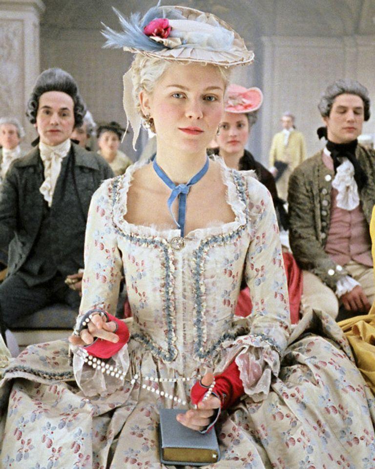 "Le film ""Marie-Antoinette"" (2006), avec Kirsten Dunst."