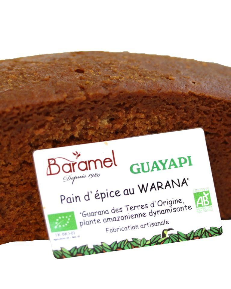 pain d'épices warana de Guyapi et Baramel