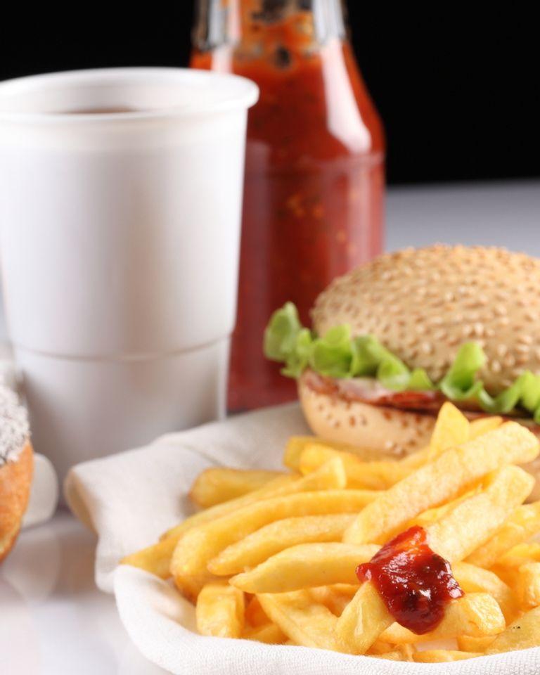 burger malbouffe junkfood