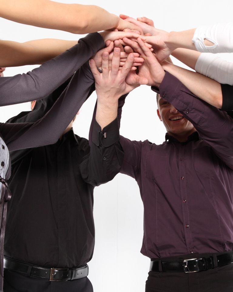 communauté groupe équipe ensemble