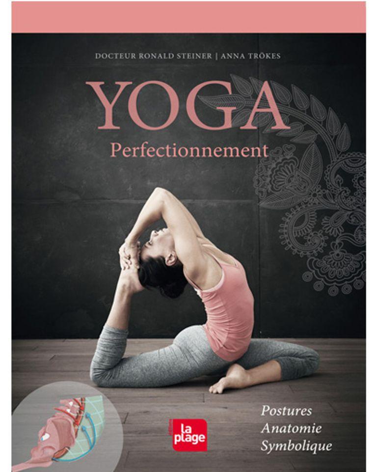 yoga perfectionnement livre posture symbole