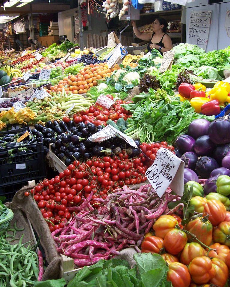 Marché couvert à Gênes