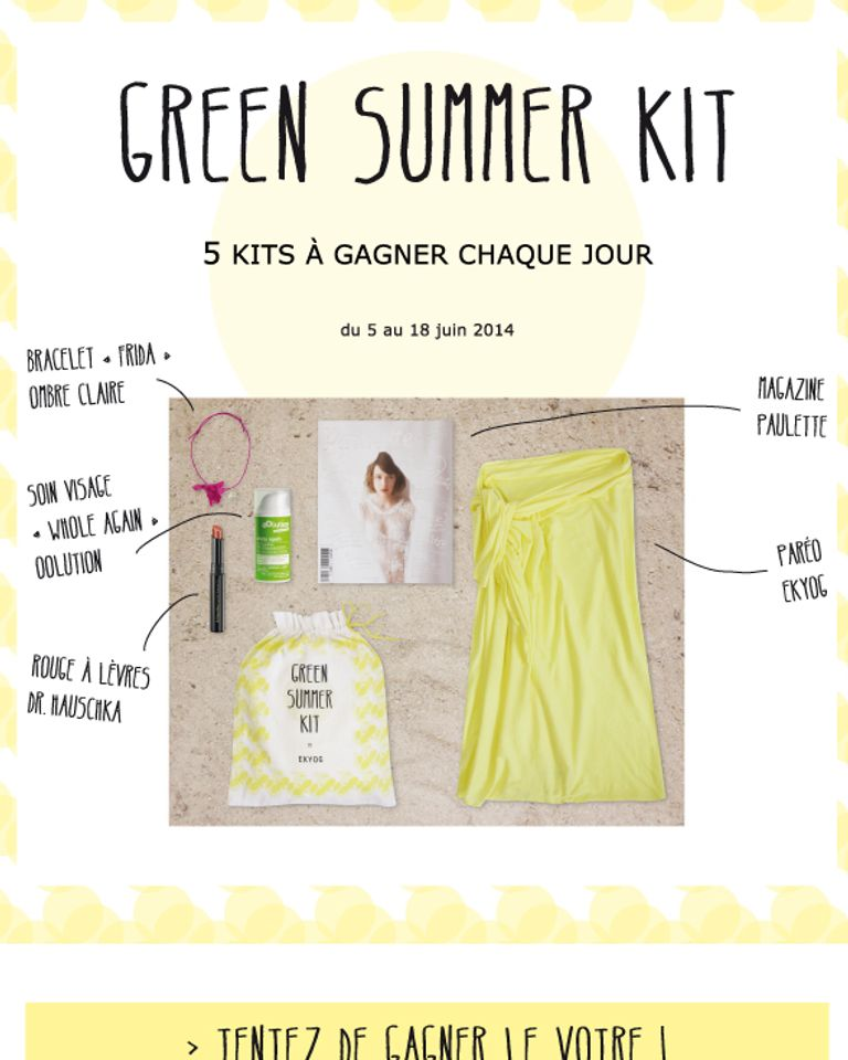 green summer kit ekyog