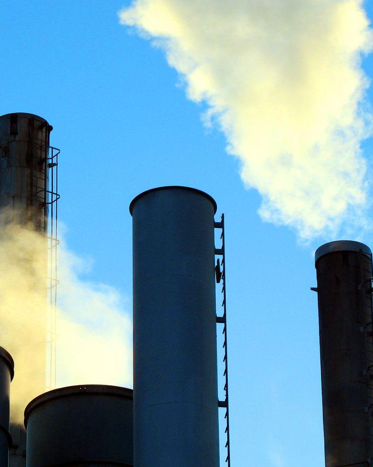 déchet usine fumée écologie environnement