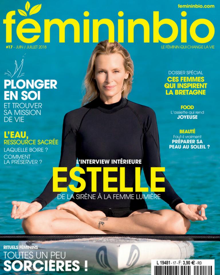 FemininBio Magazine 17 Estelle Lefébure