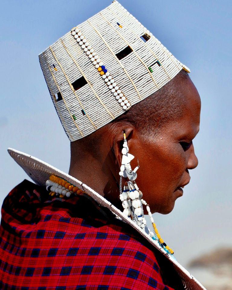 Femme maasaï et spiritualité