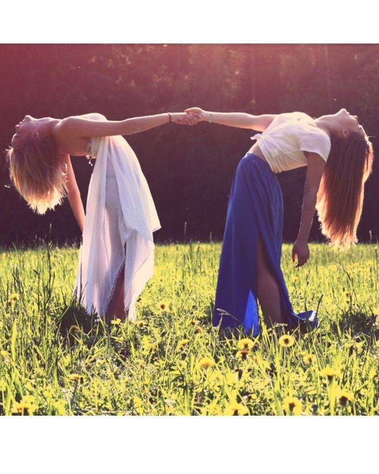 femmes danse nature