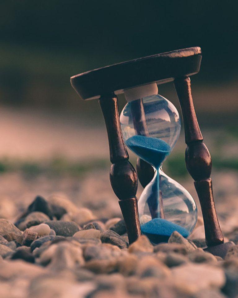 sablier temps qui passe