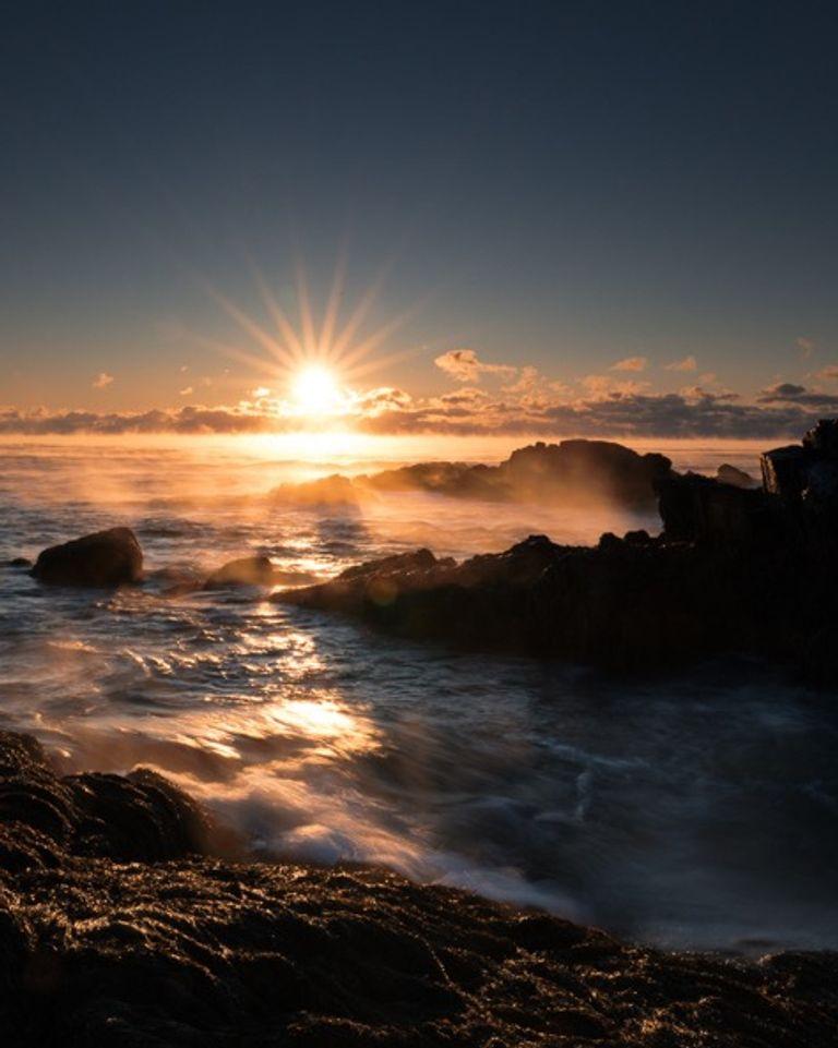 coucher de soleil espoir nouveau monde