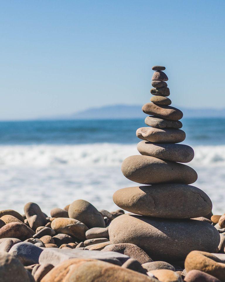 zen rochers mer