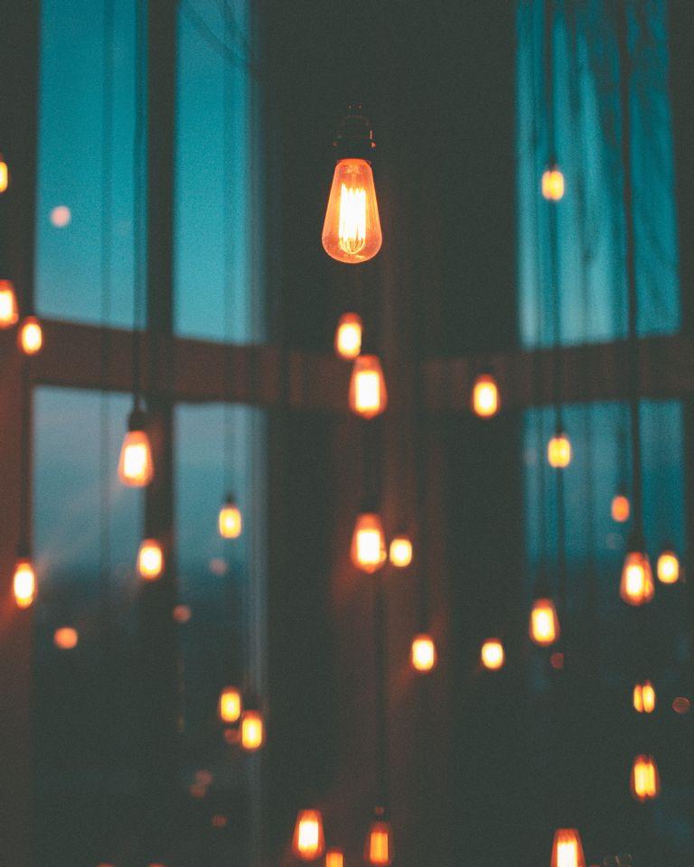 lumières ampoules électricité