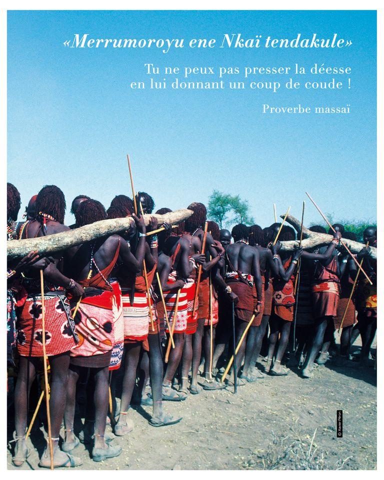 Les jumeaux de l'après vie Massaï