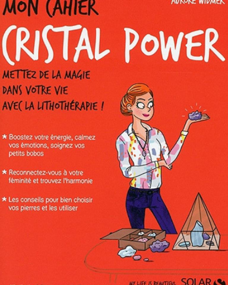 mon cahier cristal power solar éditions