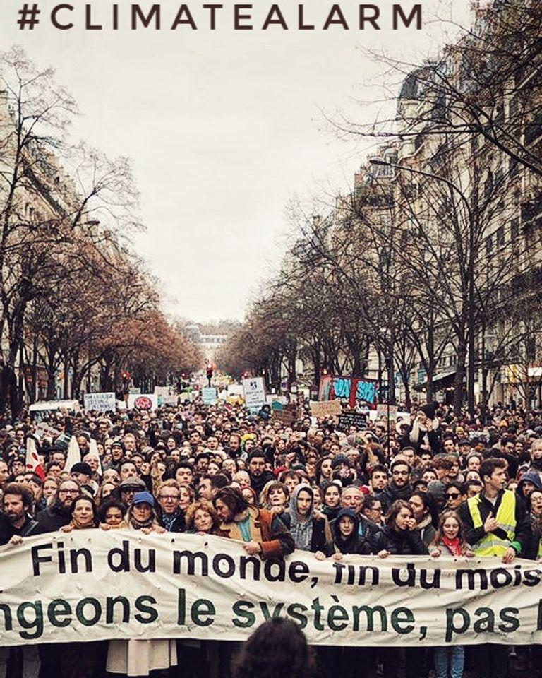 Marche climat 8 décembre Vincent Verzat