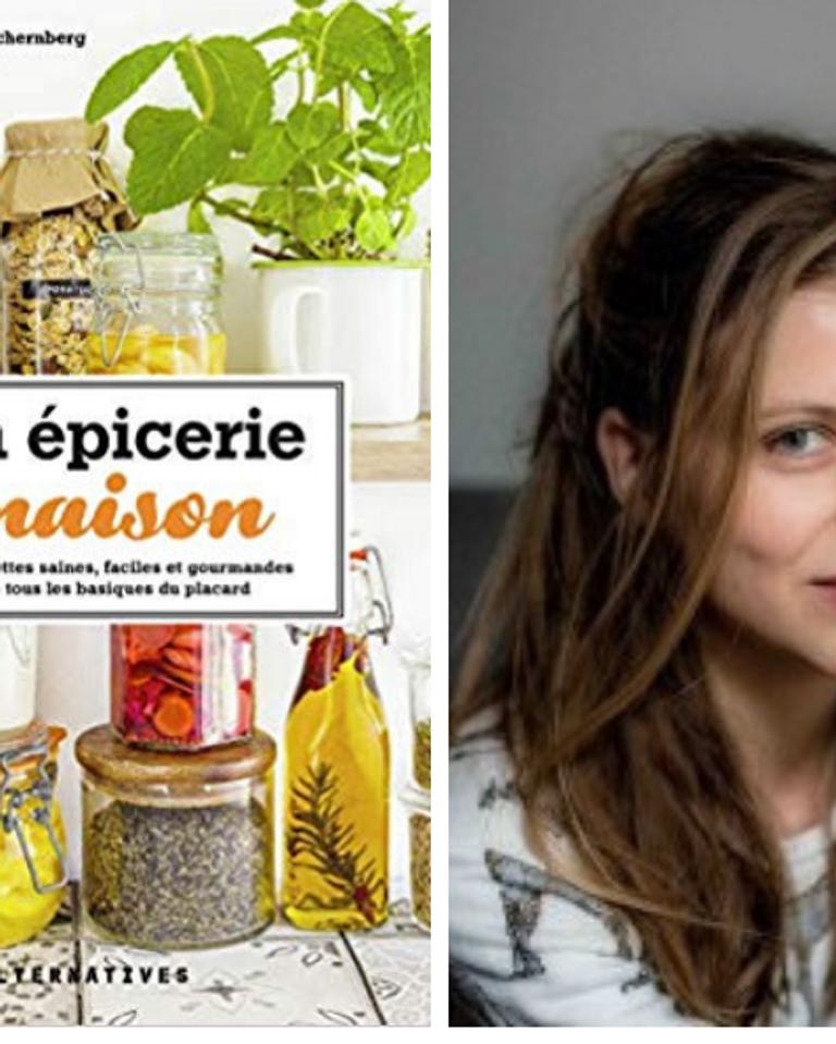 Dans ce livre, des recettes pour l'épicerie salée et des recettes pour l'épicerie sucrée