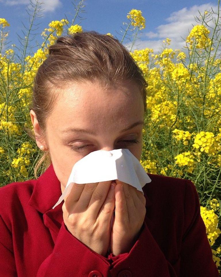 Gestes pour prévenir allergies pollen