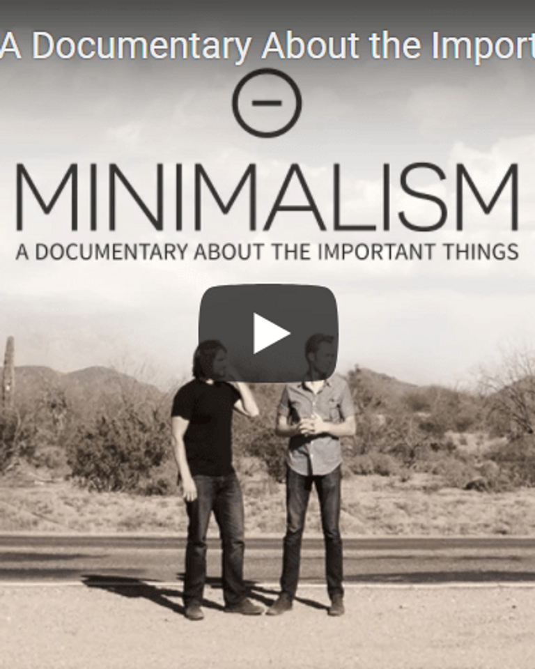 """Minimalism: A Documentary About the Important Things"""