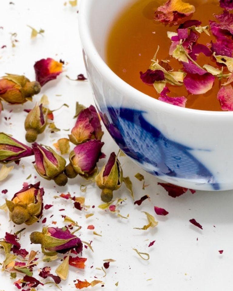 thé fleurs