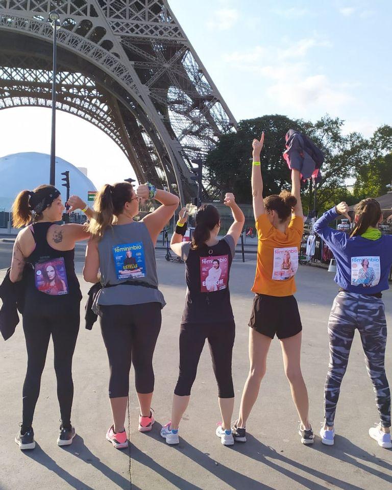 team femininbio course la parisienne