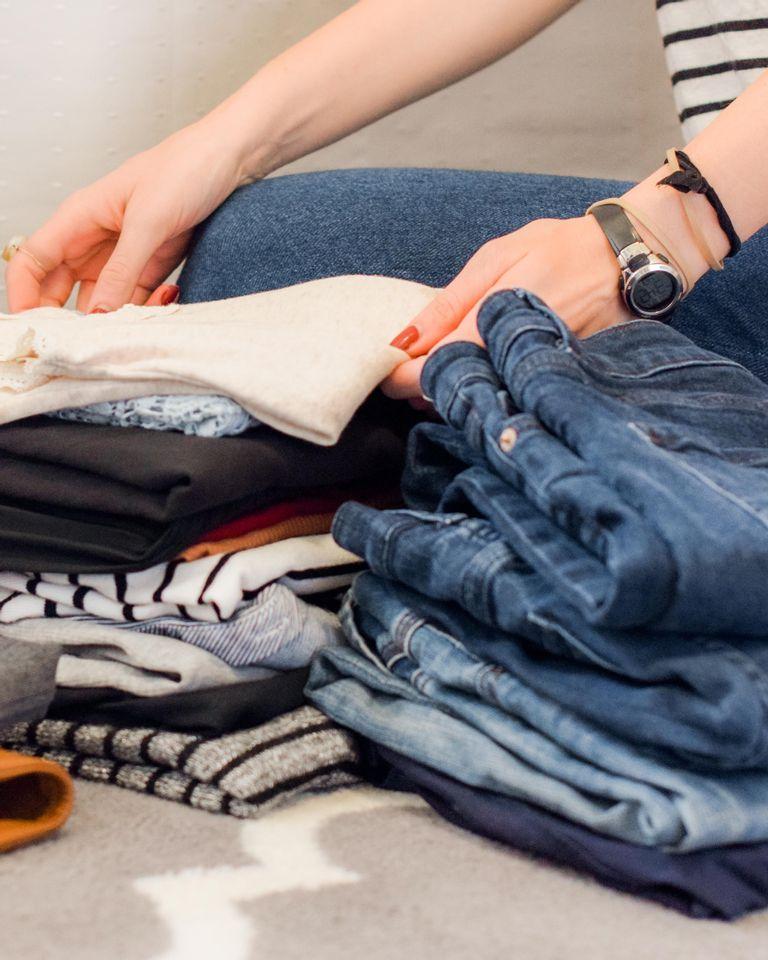 tri vêtements confinement