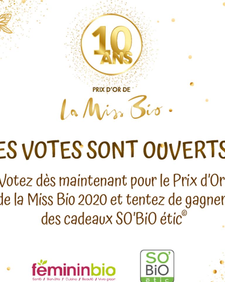 La Miss Bio 2020 les votes sont ouverts