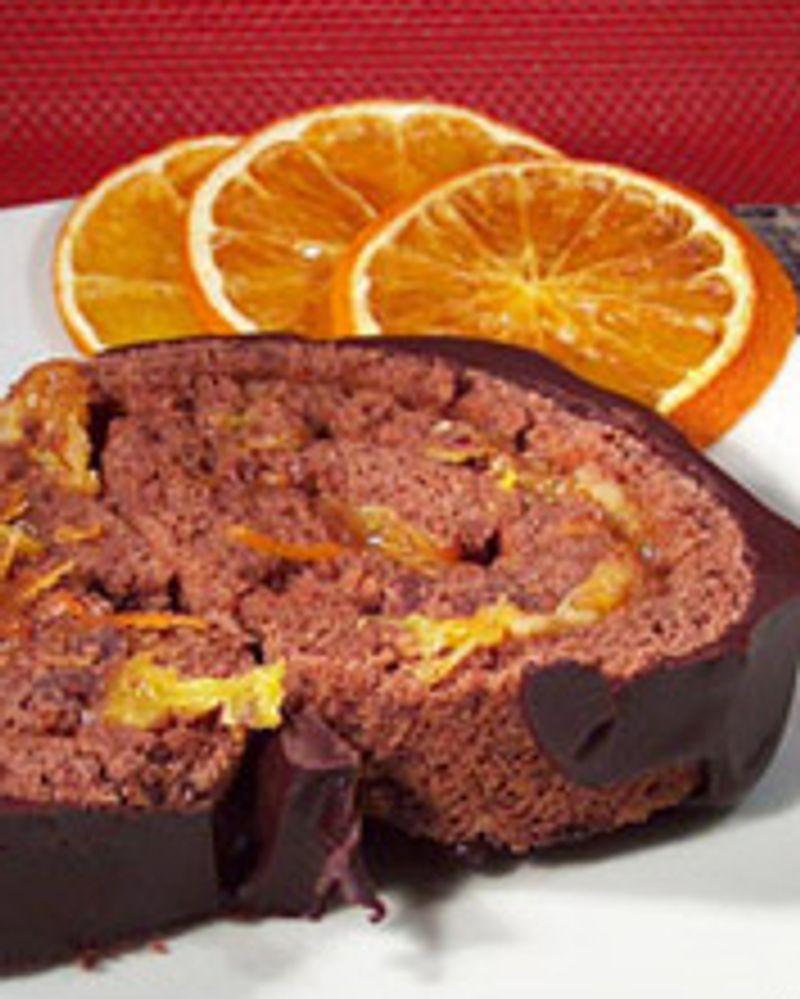 Buche chocolat orange Karen