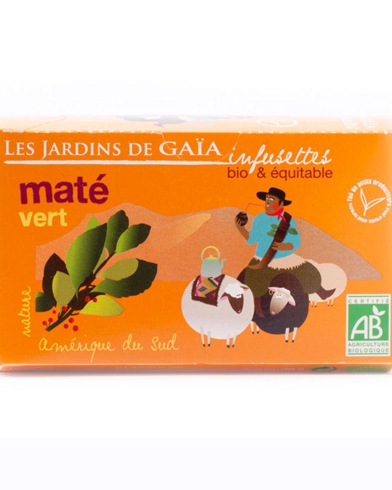 Le maté vert de Jardins de Gaïa