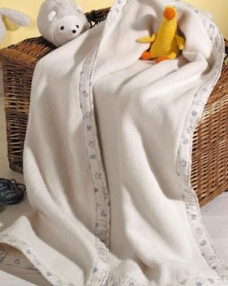 La couverture en coton bio